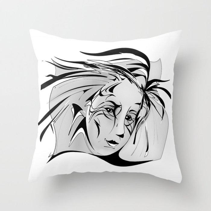 muze Throw Pillow