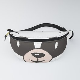 Raccoon Face Fanny Pack