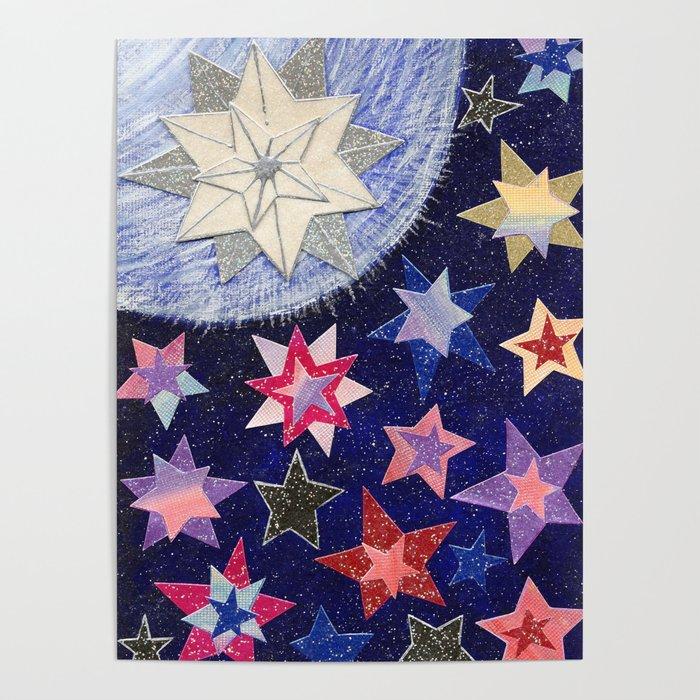 Christmas D19 - STARS Poster