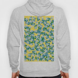 Summer Flowers Yellow Hoody