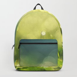 Morning lights in the meadow Backpack