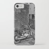 motorcycle iPhone & iPod Cases featuring Motorcycle by Cydney Melnyk Photography