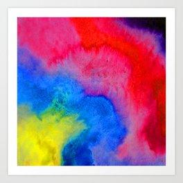 Color Cloud Art Print