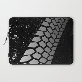 Grunge Skid Mark Laptop Sleeve