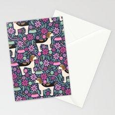 Beautiful Beagle Stationery Cards