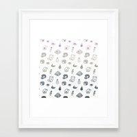 alchemy Framed Art Prints featuring Alchemy by Heiko Windisch