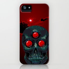 Horror From Beyond Time and Spaaaaaaace! iPhone Case
