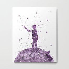 Le Petit Prince The Little Prince Metal Print