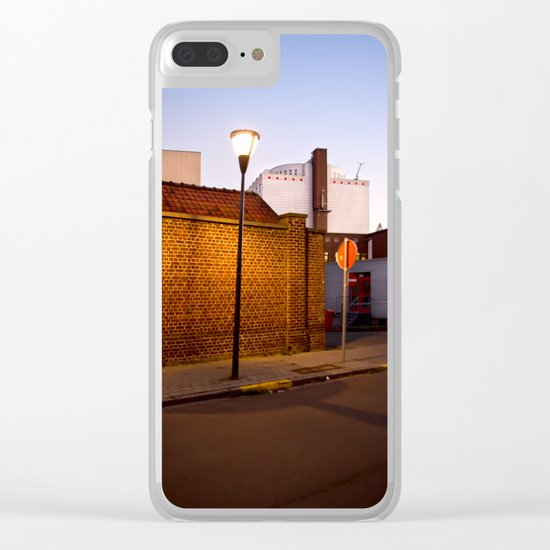 Urban Night Walk Clear iPhone Case