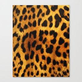Leopard Print Canvas Print