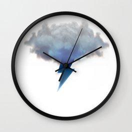 Cloud Storm Wall Clock