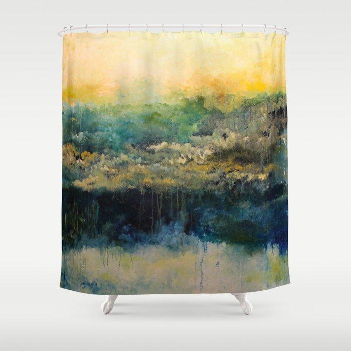 Rainforest Shower Curtain By Thaokimtrang