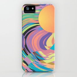 Magnetic Storm iPhone Case