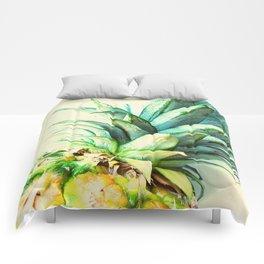 Green Pineapple Comforters