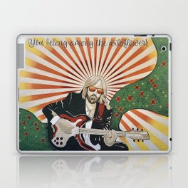 Wildflowers (Tom Petty Tribute Mural, Gainesville) // Music Rock and Roll Guitar Legendary Hall Fame Laptop & iPad Skin