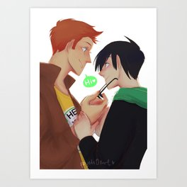 YJ!Birdflash Art Print