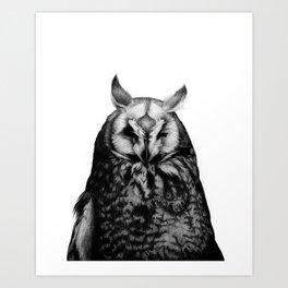 Owl You Art Print