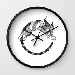 Cat Loop Wall Clock