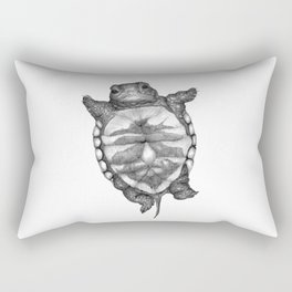 Little Turtle Rectangular Pillow