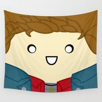dean winchester Wall Tapestries featuring Dean by discojellyfish