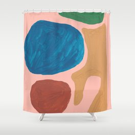 17    | Imperfection | 190325 Abstract Shapes Shower Curtain