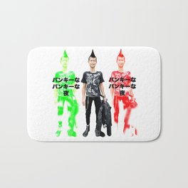 Punky Punky Night Bath Mat