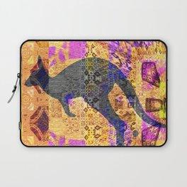 Dreamtime Kangaroo Abstract Psychedelic Laptop Sleeve