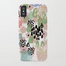 spring 2 modern contemporary iPhone X Slim Case