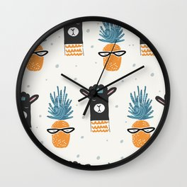 Cute pattern Wall Clock