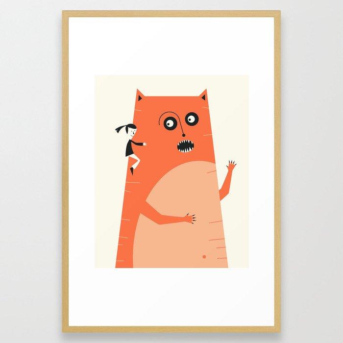MONSTER (1) Framed Art Print