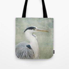 Cool Heron Tote Bag
