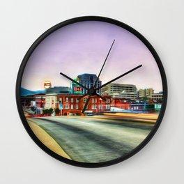 Roanoke Virginia Wall Clock