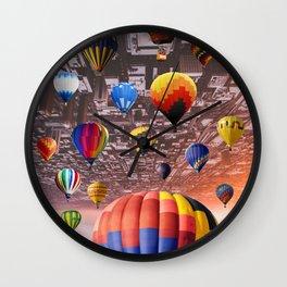 Balloon Invasion by GEN Z Wall Clock