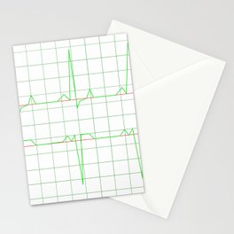 Normal Heart Rhythm Stationery Cards