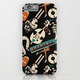 Jazz Rhythm (black) iPhone Case