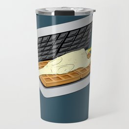Rubber Chicken & Waffles Travel Mug