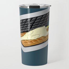 Rubber Chicken & Waffles Travel Mug
