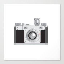 Vintage 35mm Film Camera Retro Style Canvas Print