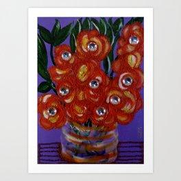 Bloomin Britt Art Print