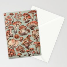 A Series of Mushrooms Stationery Cards