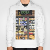 pasta Hoodies featuring Pasta Land by Teddy Kang's Art