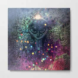 Durga the Goddess Metal Print