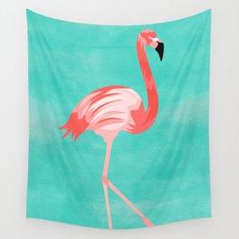 Flamingo Bird Wall Tapestry