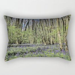 Everdon Stubbs Wood Bluebells Rectangular Pillow