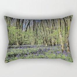 Everdon Stubbs Wood Bluebells Rectangular Pillow