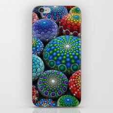 Jewel Drop Mandala Stone Collection #1 iPhone Skin