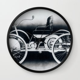 Ford quadricycle Wall Clock