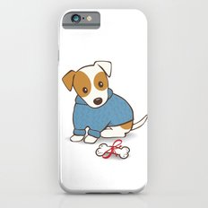 Jack Russell Terrier Wearing Sweater Illustration iPhone 6s Slim Case