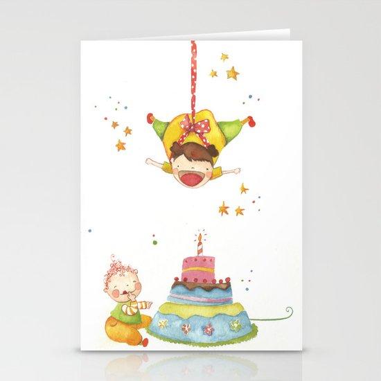 Baby birthday Stationery Cards