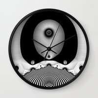 focus Wall Clocks featuring Focus by Christy Leigh